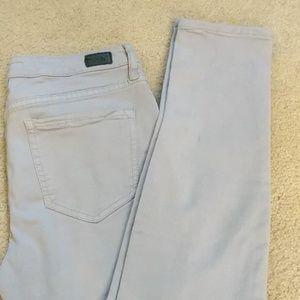 Joie Jeans - Joie Mid-Rise Skinny Light Gray Jean